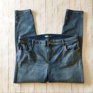 Old Navy Rockstar Super Skinny Denim Blue Jeans